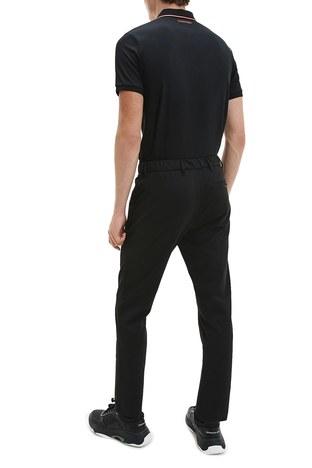 Calvin Klein - Calvin Klein Polo Erkek T Shirt K10K106460 BEH SİYAH (1)