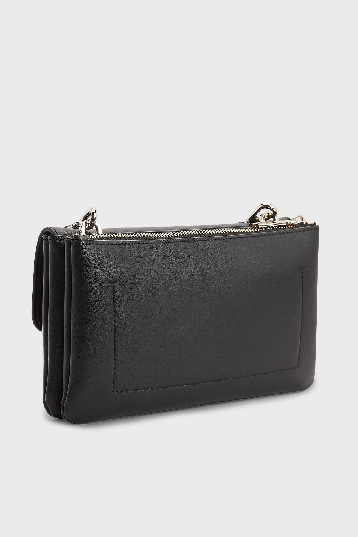Calvin Klein Ayarlanabilir Askılı Bayan Çanta K60K608177 BAX SİYAH