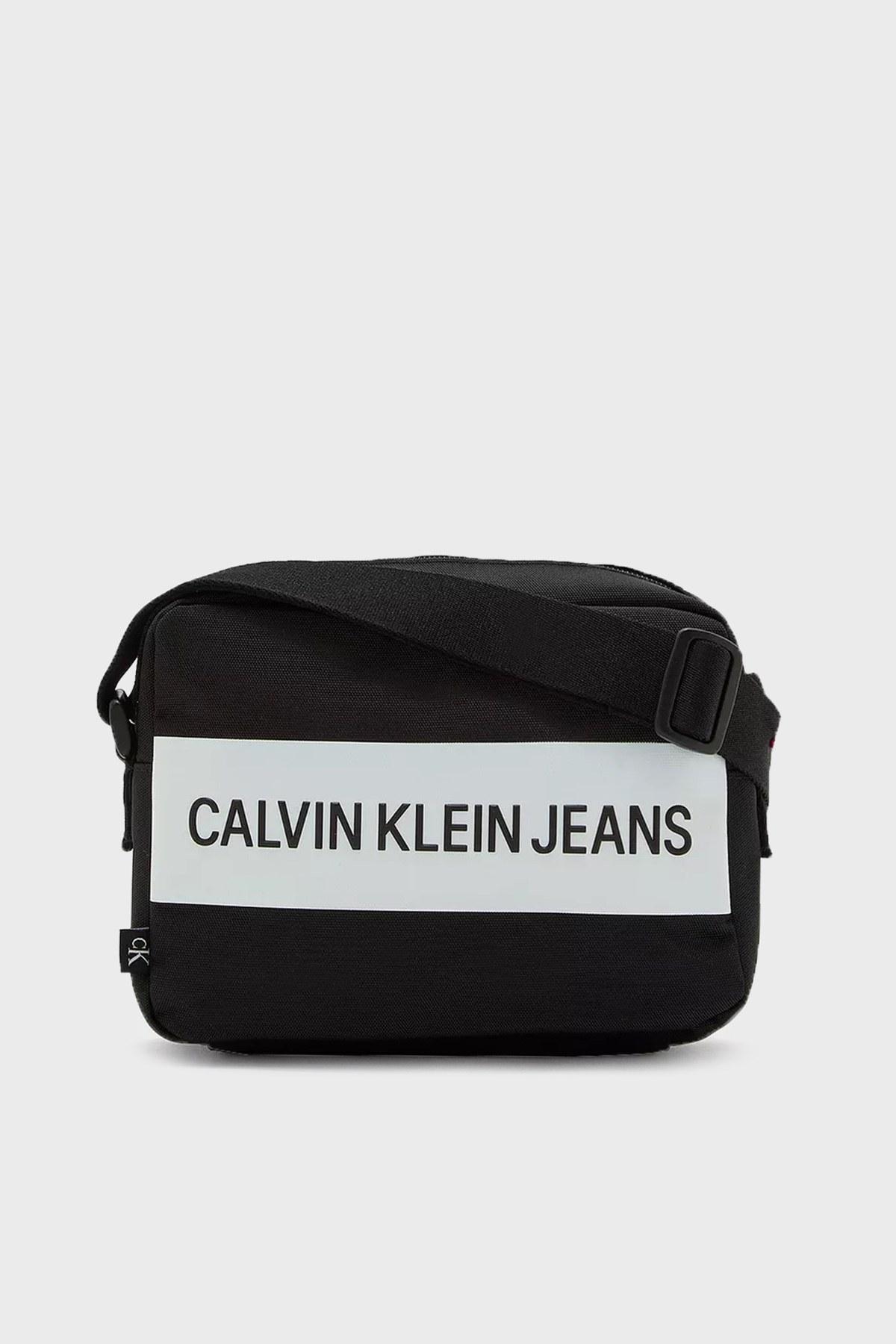 Calvin Klein Ayarlanabilir Askılı Fermuarlı Bayan Çanta K60K608239 BDS SİYAH