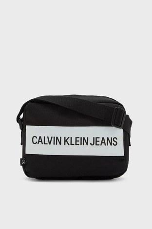 Calvin Klein - Calvin Klein Ayarlanabilir Askılı Fermuarlı Bayan Çanta K60K608239 BDS SİYAH