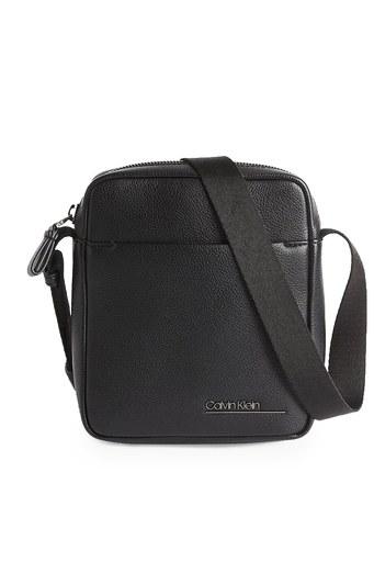 Calvin Klein Ayarlanabilir Askılı Fermuarlı Erkek Çanta K50K505518 BAX SİYAH