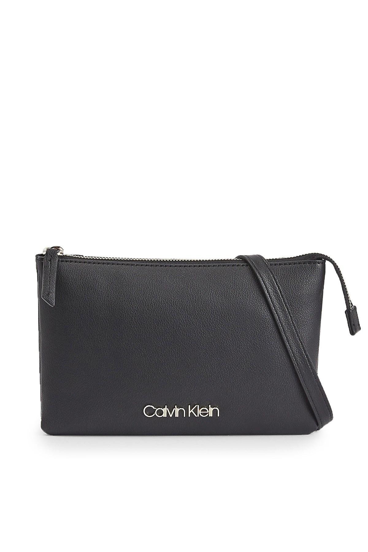 Calvin Klein Ayarlanabilir Askılı Kadın Çanta K60K607019 BAX SİYAH