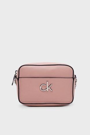 Calvin Klein - Calvin Klein Ayarlanabilir Zincir Detaylı Askılı Bayan Çanta K60K608287 TCT PEMBE