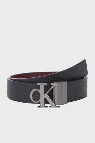Calvin Klein - Calvin Klein Çift Taraflı Hakiki Deri Erkek Kemer K50K507066 0GP SİYAH-BORDO