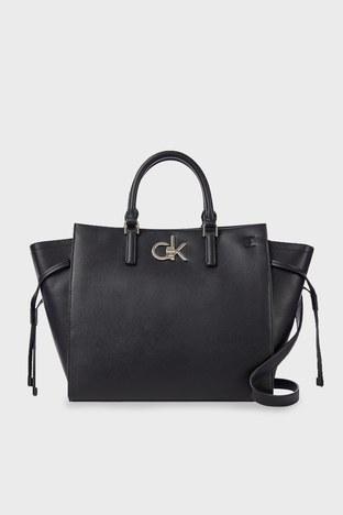 Calvin Klein - Calvin Klein Çıkarılabilir Omuz Askılı Bayan Çanta K60K608285 BAX SİYAH