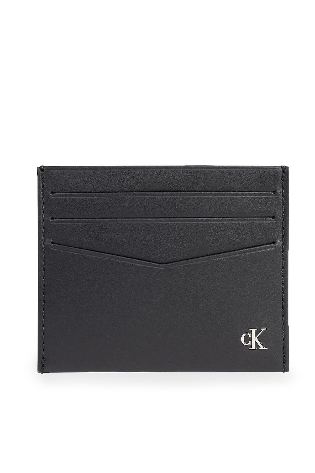 Calvin Klein Deri Erkek Kartlık K50K506187 BDS SİYAH
