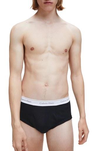 Calvin Klein % 100 Pamuk 3 Pack Erkek Slip 000NB1398A 001 SİYAH