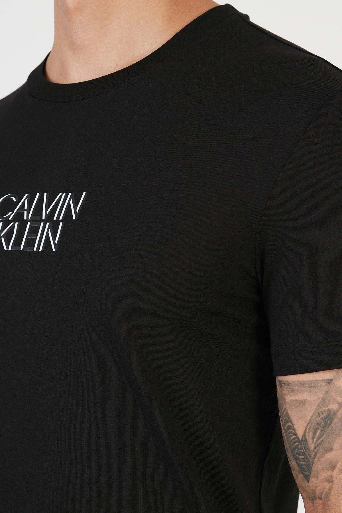 Calvin Klein Erkek T Shirt K10K106844 BEH SİYAH