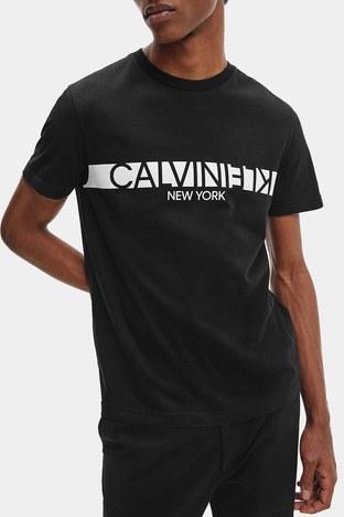 Calvin Klein - Calvin Klein Erkek T Shirt K10K107124 BEH SİYAH