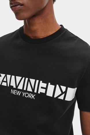 Calvin Klein - Calvin Klein Erkek T Shirt K10K107124 BEH SİYAH (1)