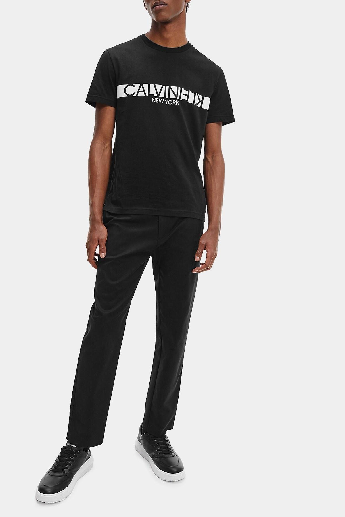 Calvin Klein Erkek T Shirt K10K107124 BEH SİYAH