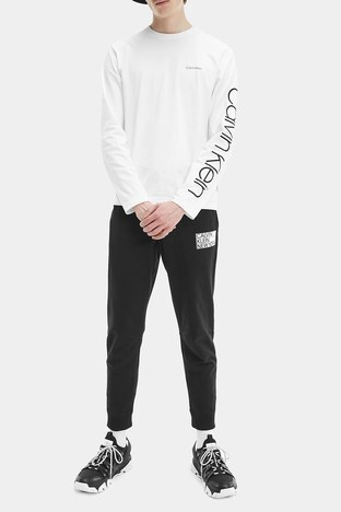 Calvin Klein - Calvin Klein Erkek T Shirt K10K107156 YAF BEYAZ (1)