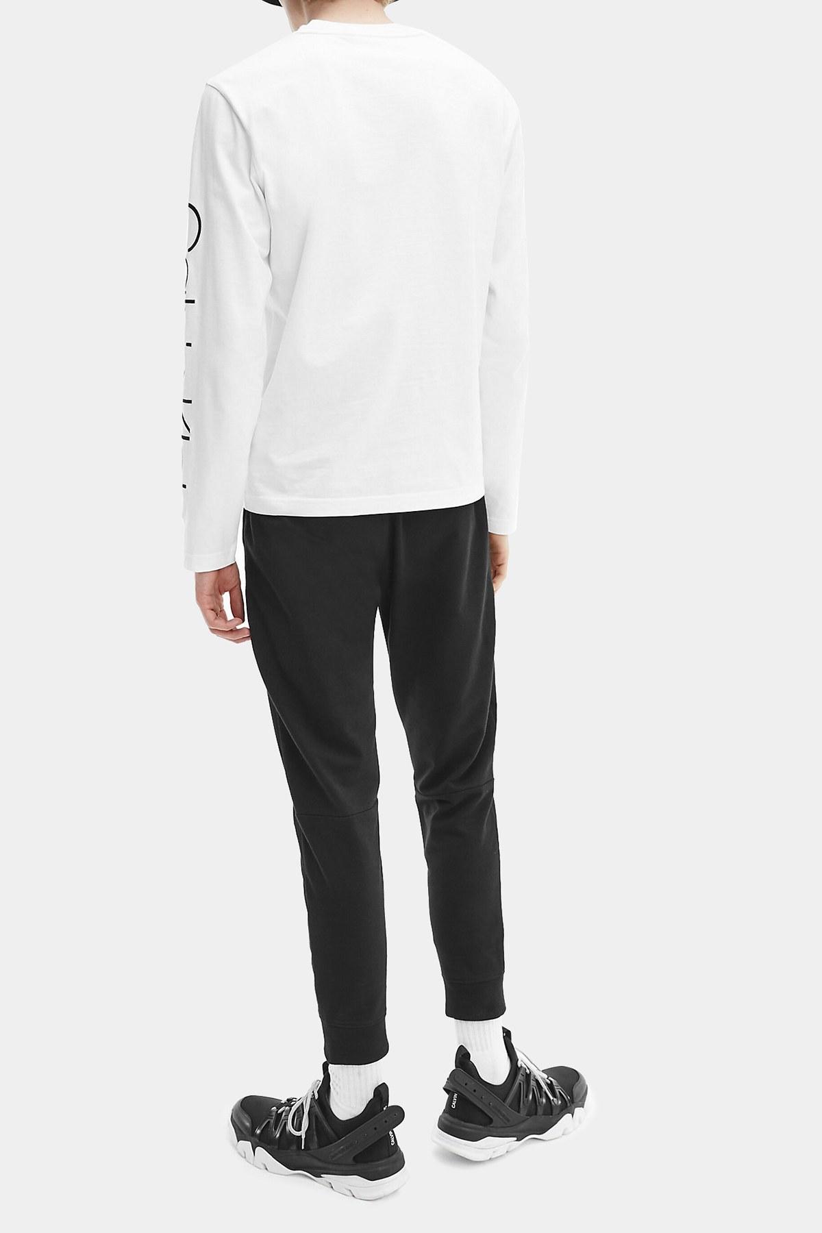 Calvin Klein Erkek T Shirt K10K107156 YAF BEYAZ