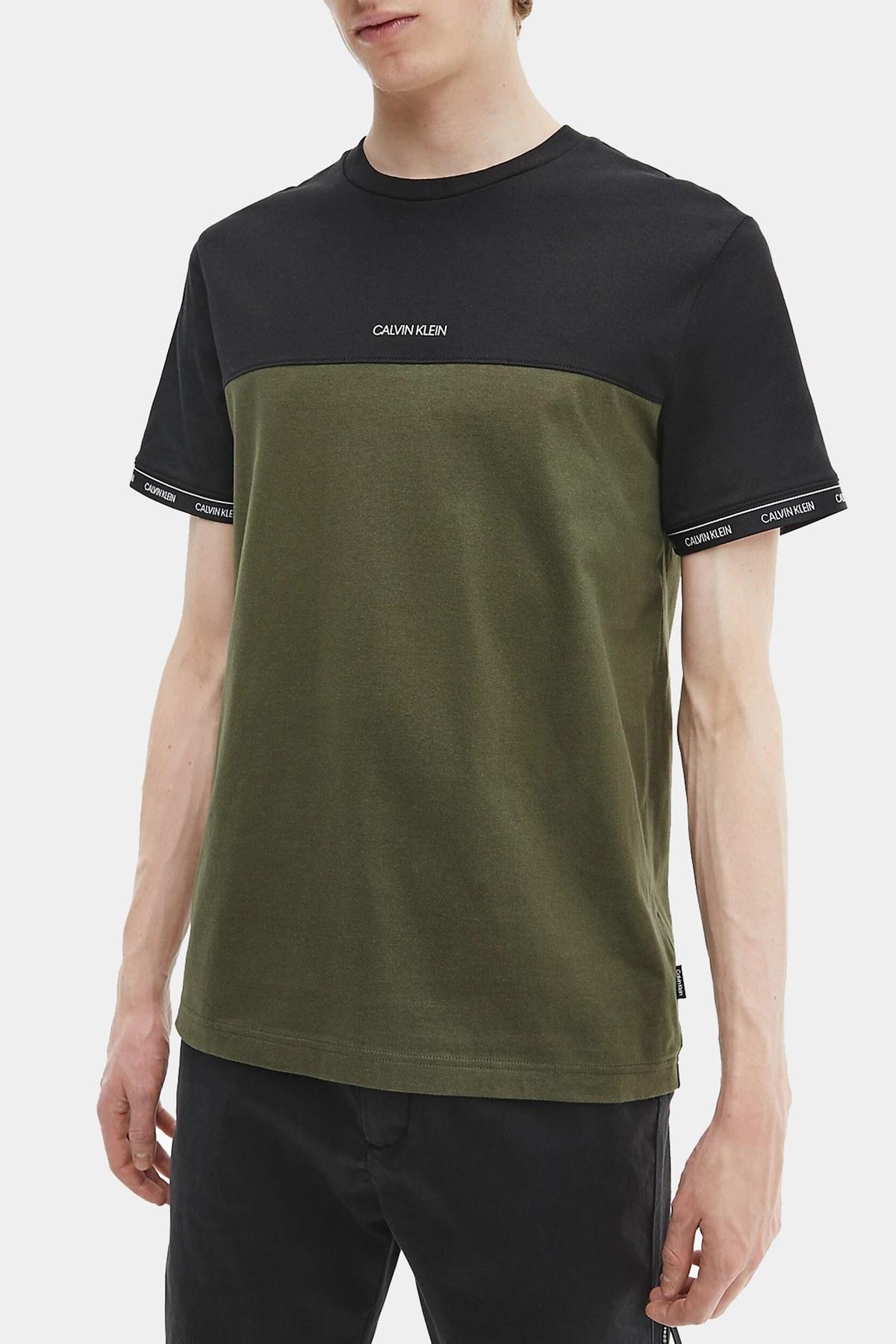 Calvin Klein Erkek T Shirt K10K107411 0TV HAKİ