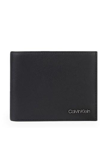 Calvin Klein Hakiki Deri Erkek Cüzdan K50K506386 BAX SİYAH