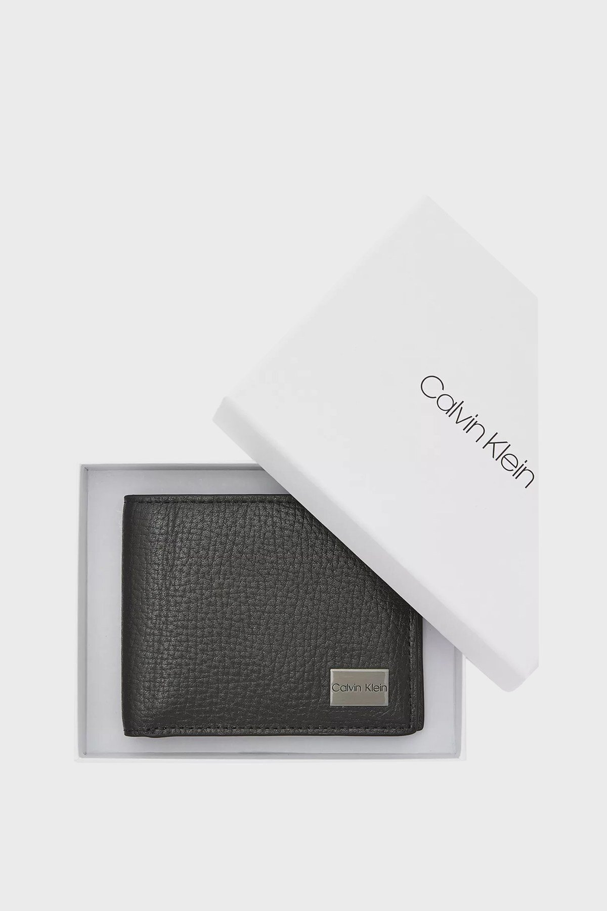 Calvin Klein Hakiki Deri Erkek Cüzdan K50K506393 BAX SİYAH