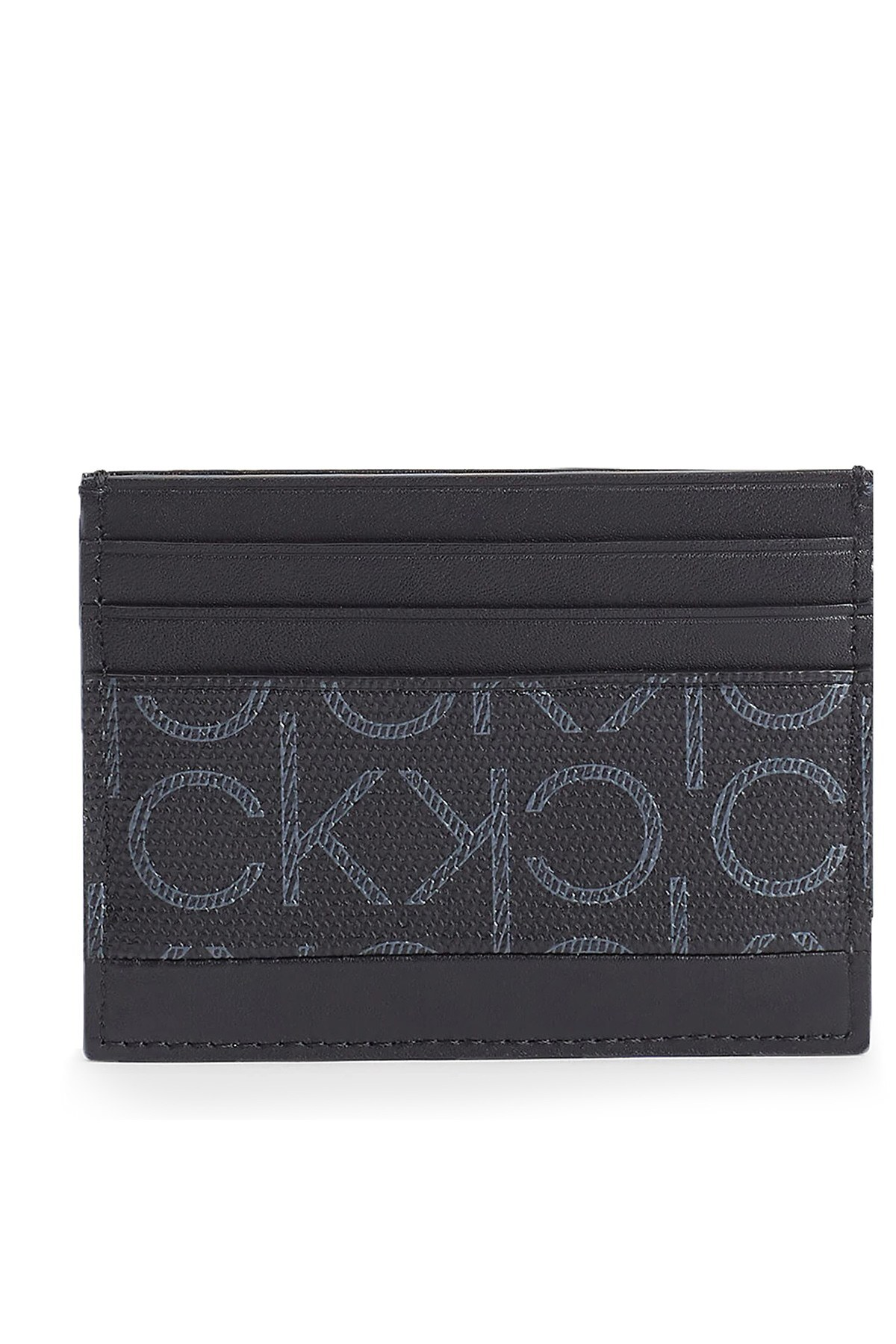 Calvin Klein Logo Baskılı Erkek Kartlık K50K505971 0GN SİYAH