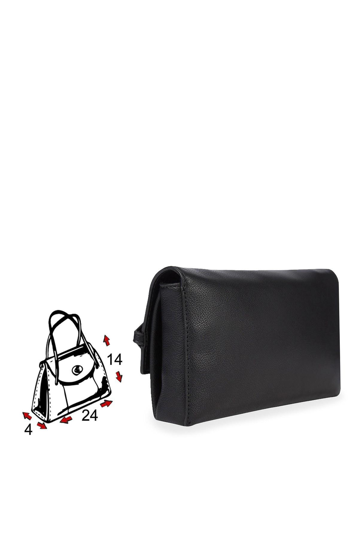 Calvin Klein Logo Baskılı Kadın Çanta K60K607042 BAX SİYAH