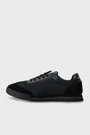 Calvin Klein - Calvin Klein Marka Logolu Erkek Ayakkabı YM0YM00026 BDS SİYAH (1)