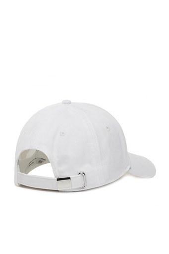 Calvin Klein Pamuklu Kadın Şapka K60K606381 YAF BEYAZ
