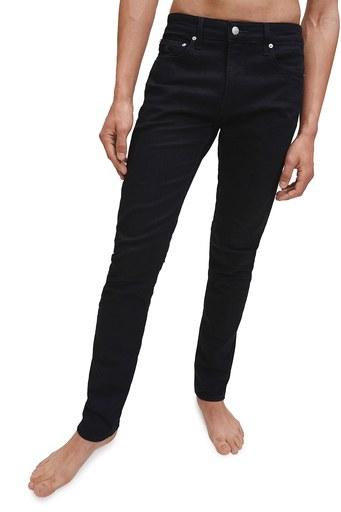 Calvin Klein Pamuklu Slim Fit Jeans Erkek Kot Pantolon J30J315567 1BY SİYAH