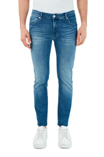 Calvin Klein Slim Fit Pamuklu Jeans Erkek Kot Pantolon K10K106560 1A4 LACİVERT