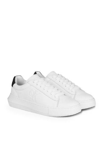 Calvin Klein Sneaker Kadın Ayakkabı YW0YW00066 YAF BEYAZ