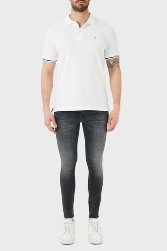 Calvin Klein Süper Skinny Pamuklu Jeans Erkek Kot Pantolon J30J317206 1BZ GRİ