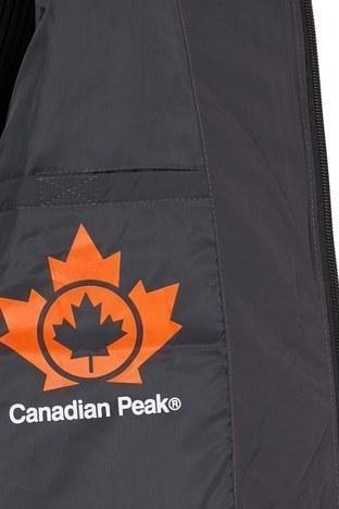 Canadian Peak Kapüşonlu Outdoor Erkek Parka ARDENT KOYU GRİ