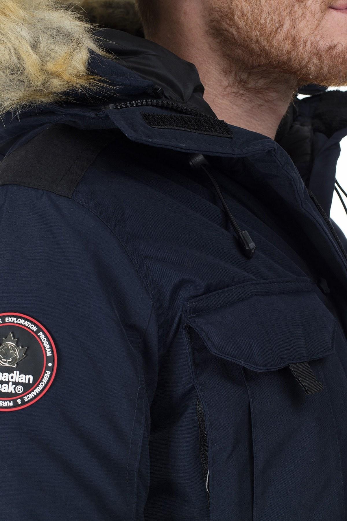 Canadian Peak Outdoor Erkek Parka ALGOS LACİVERT