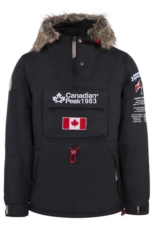 Canadian Peak Outdoor Erkek Parka BANTEAK SİYAH
