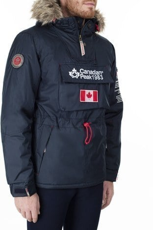 Canadian Peak Outdoor Erkek Parka BANTEAK LACİVERT