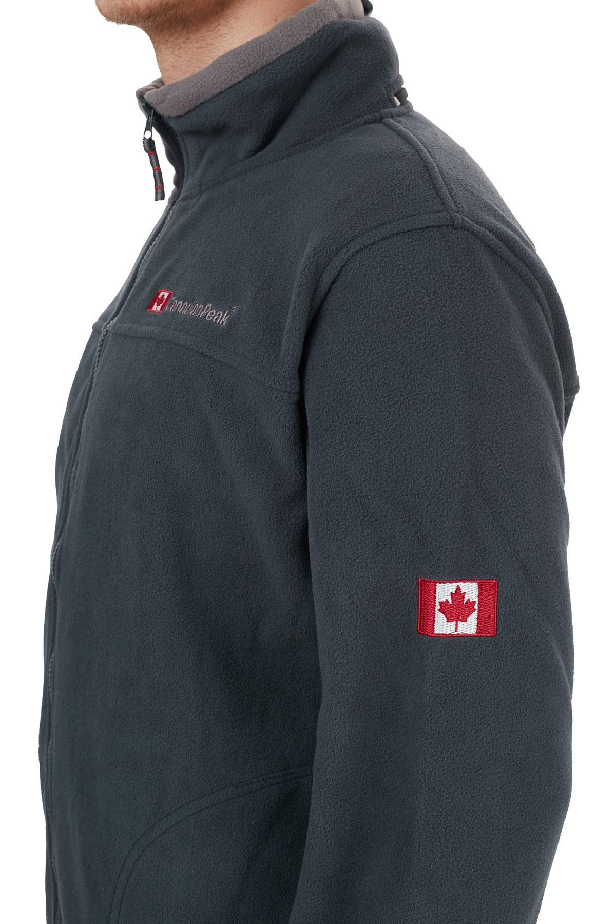 Canadian Peak Yumuşak Dokulu Outdoor Erkek Polar ULTONA LACİVERT