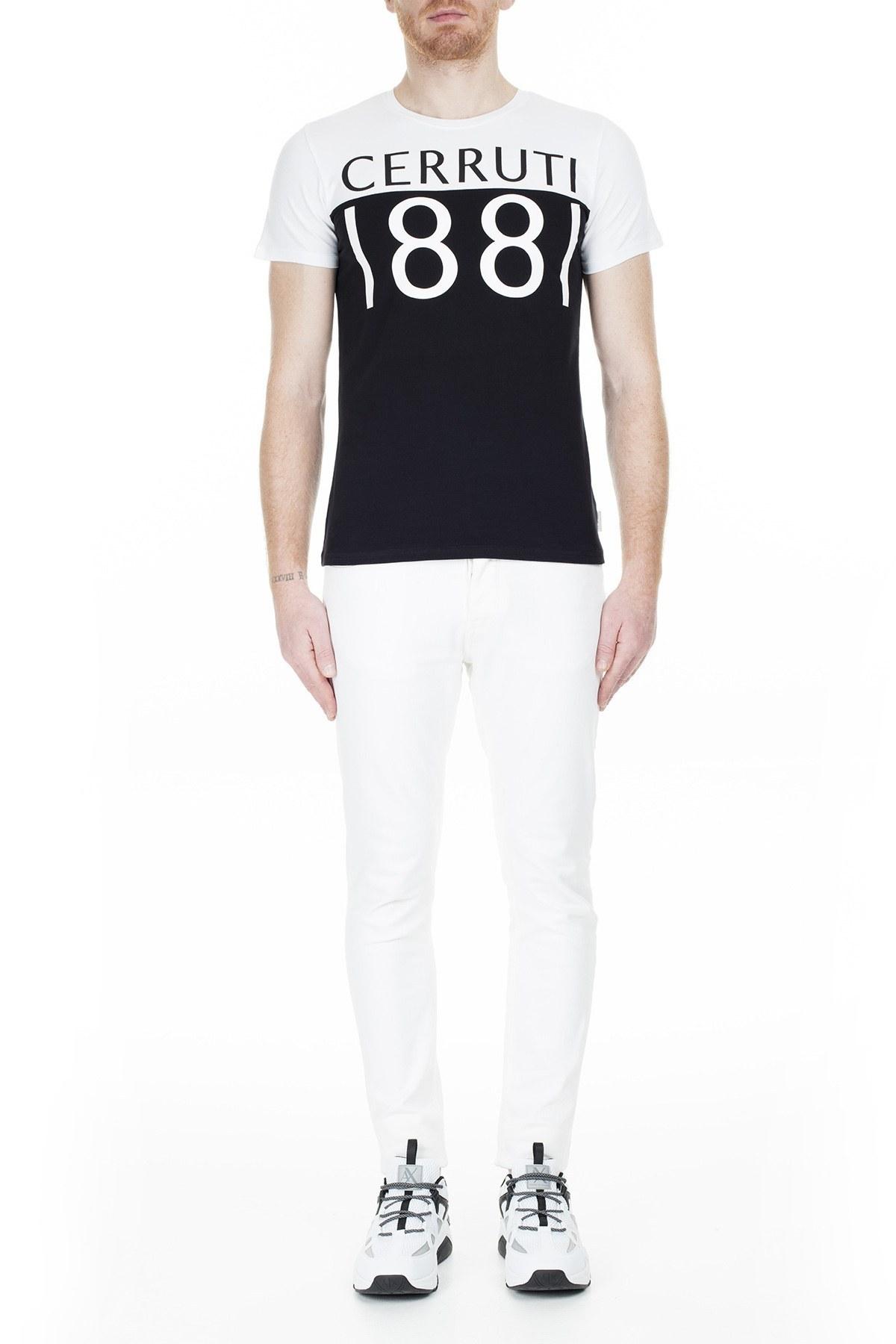 Cerruti 1881 Erkek T Shirt 203-001642 BEYAZ