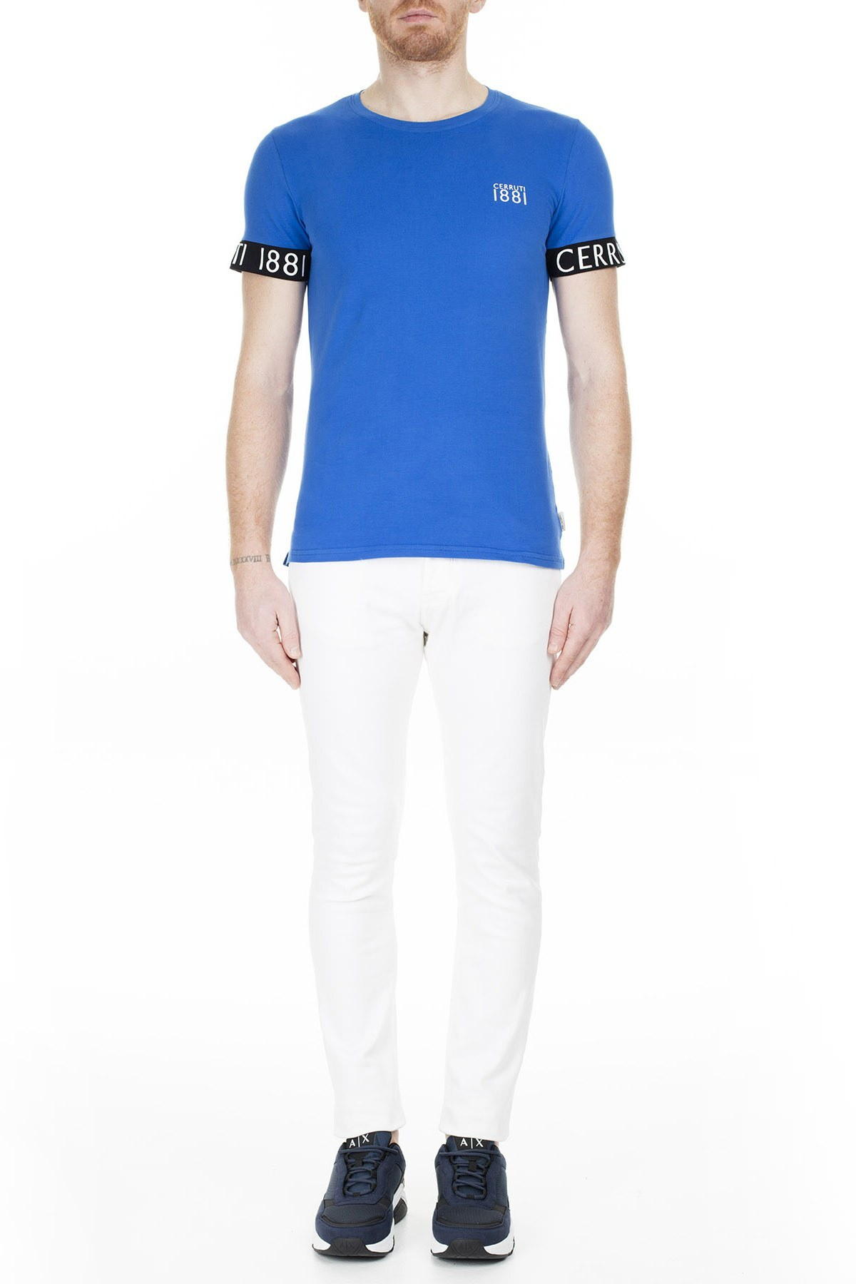 Cerruti 1881 Erkek T Shirt 203-001643 SAKS