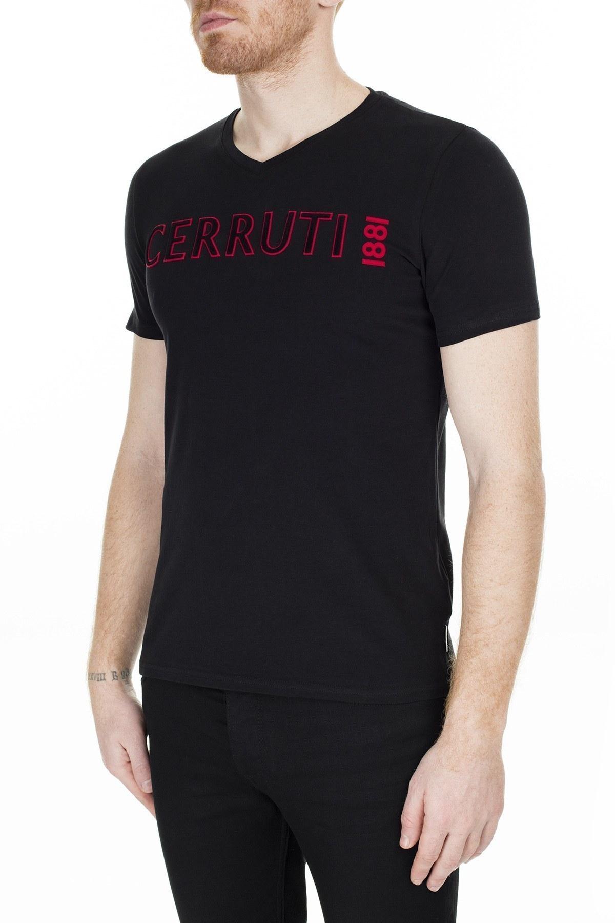 Cerruti 1881 Erkek T Shirt 203-001645 SİYAH