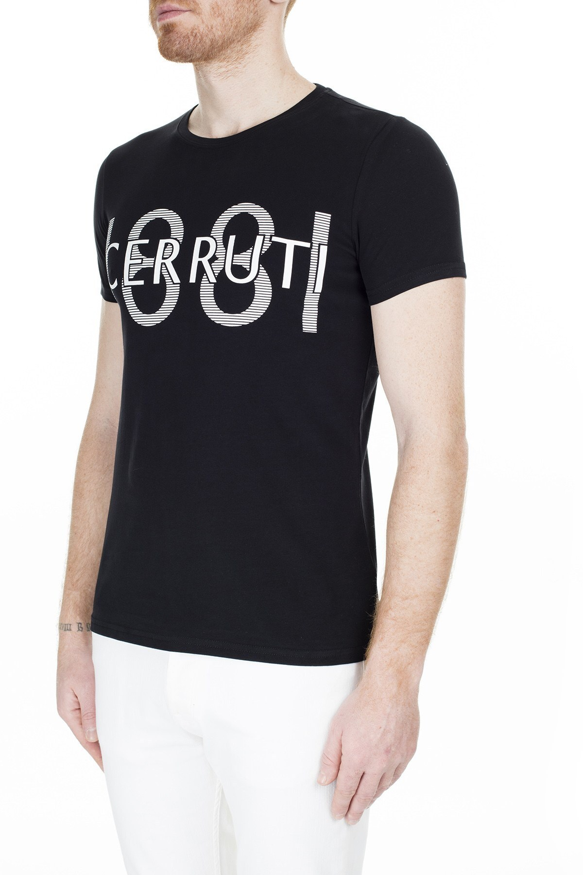 Cerruti 1881 Erkek T Shirt 203-001646 SİYAH