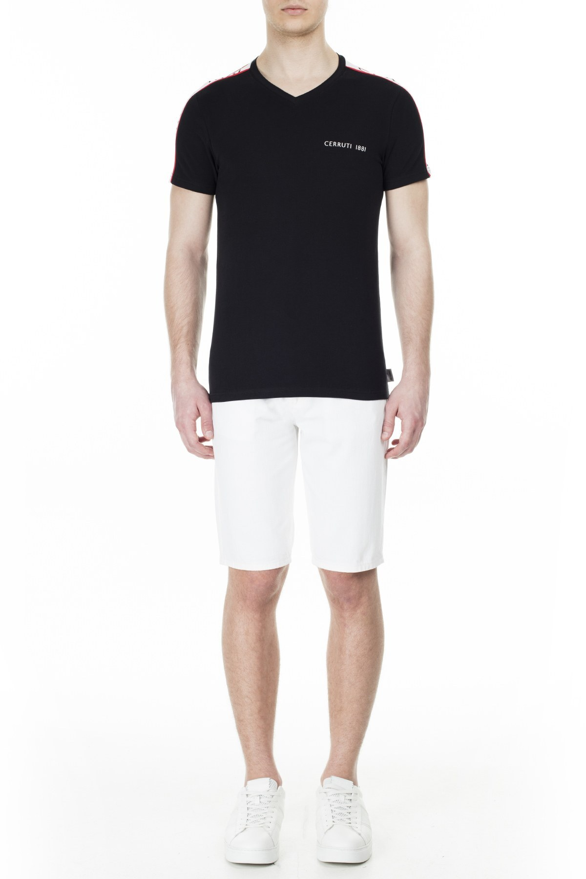 Cerruti 1881 Erkek T Shirt 203-001719 SİYAH