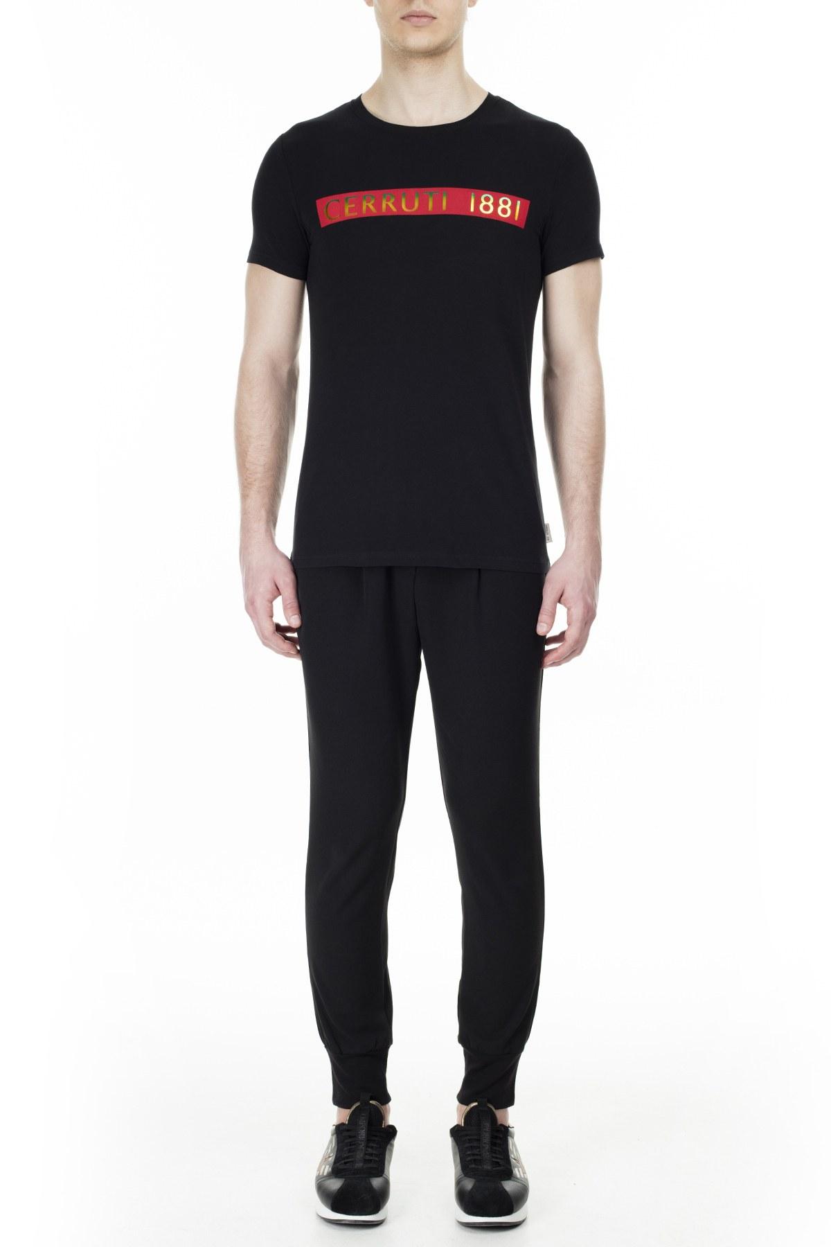 Cerruti 1881 Erkek T Shirt 203-001720 SİYAH