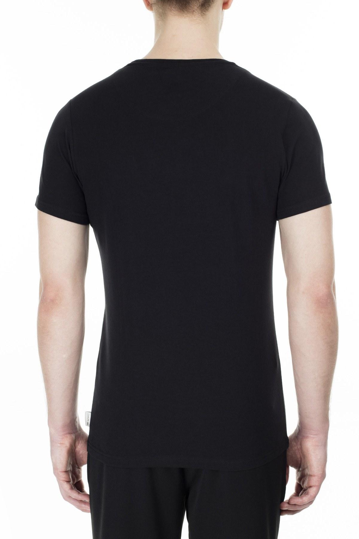 Cerruti 1881 Erkek T Shirt 203-001728 SİYAH