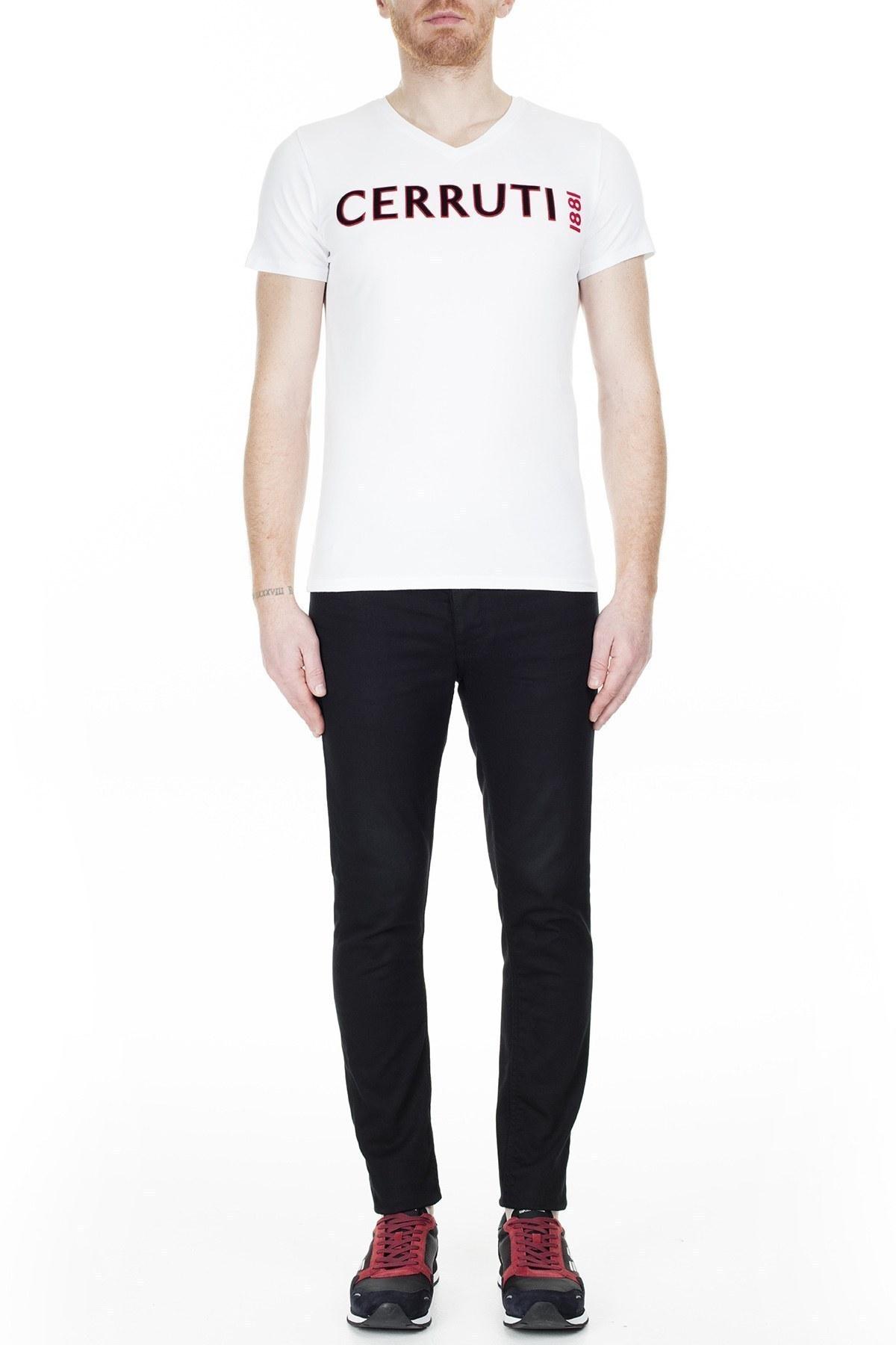 Cerruti 1881 Erkek T Shirt 203-001645 BEYAZ