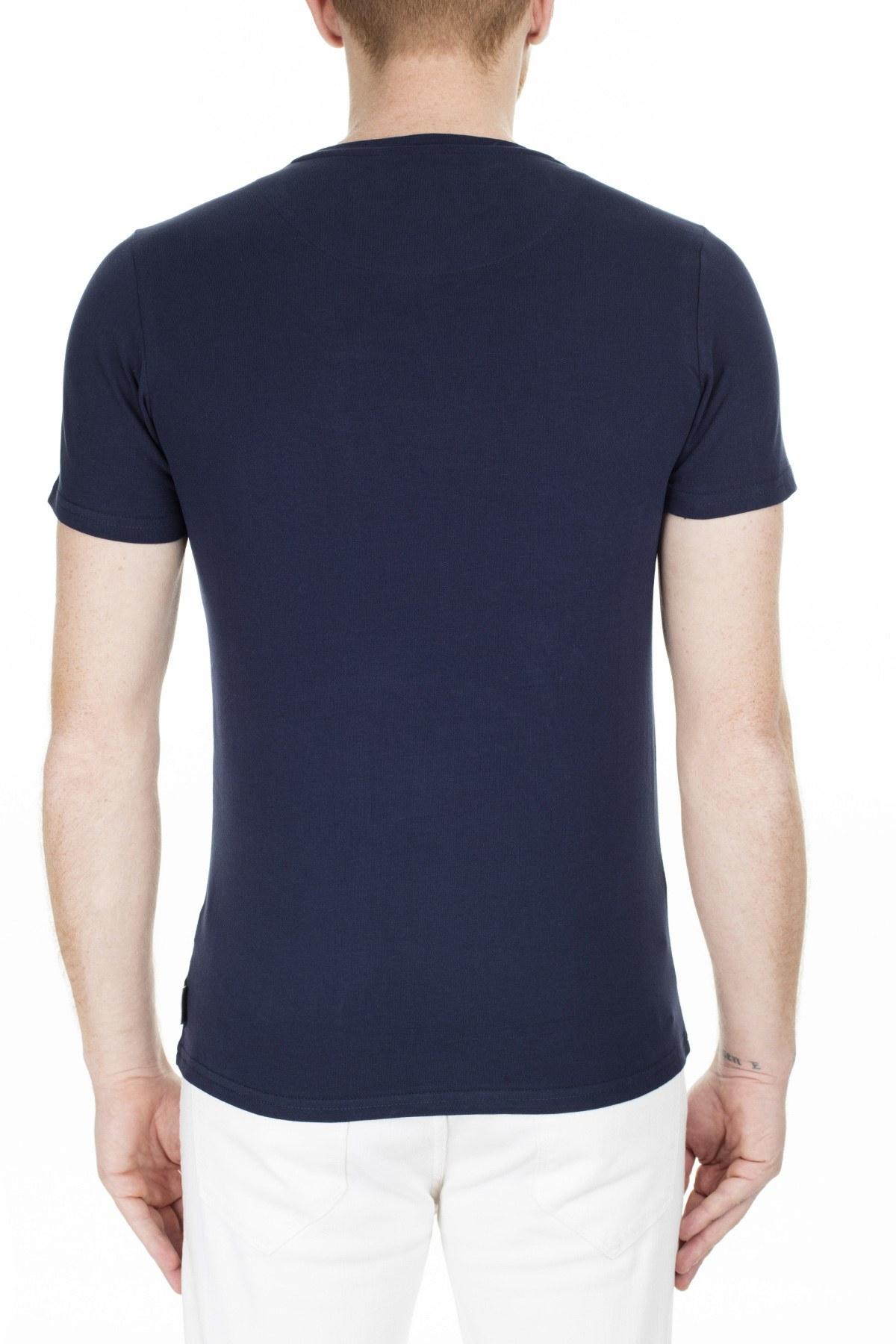 Cerruti 1881 Erkek T Shirt 203-001646 LACİVERT