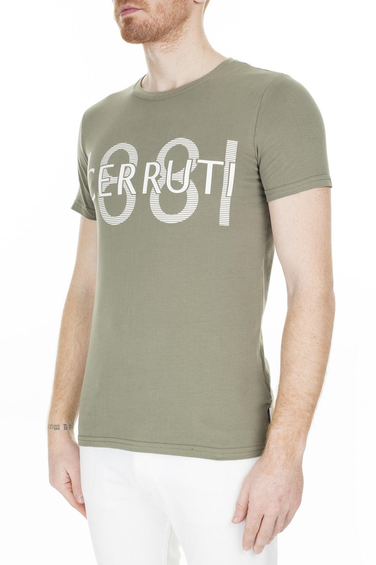 Cerruti 1881 Erkek T Shirt 203-001646 HAKİ