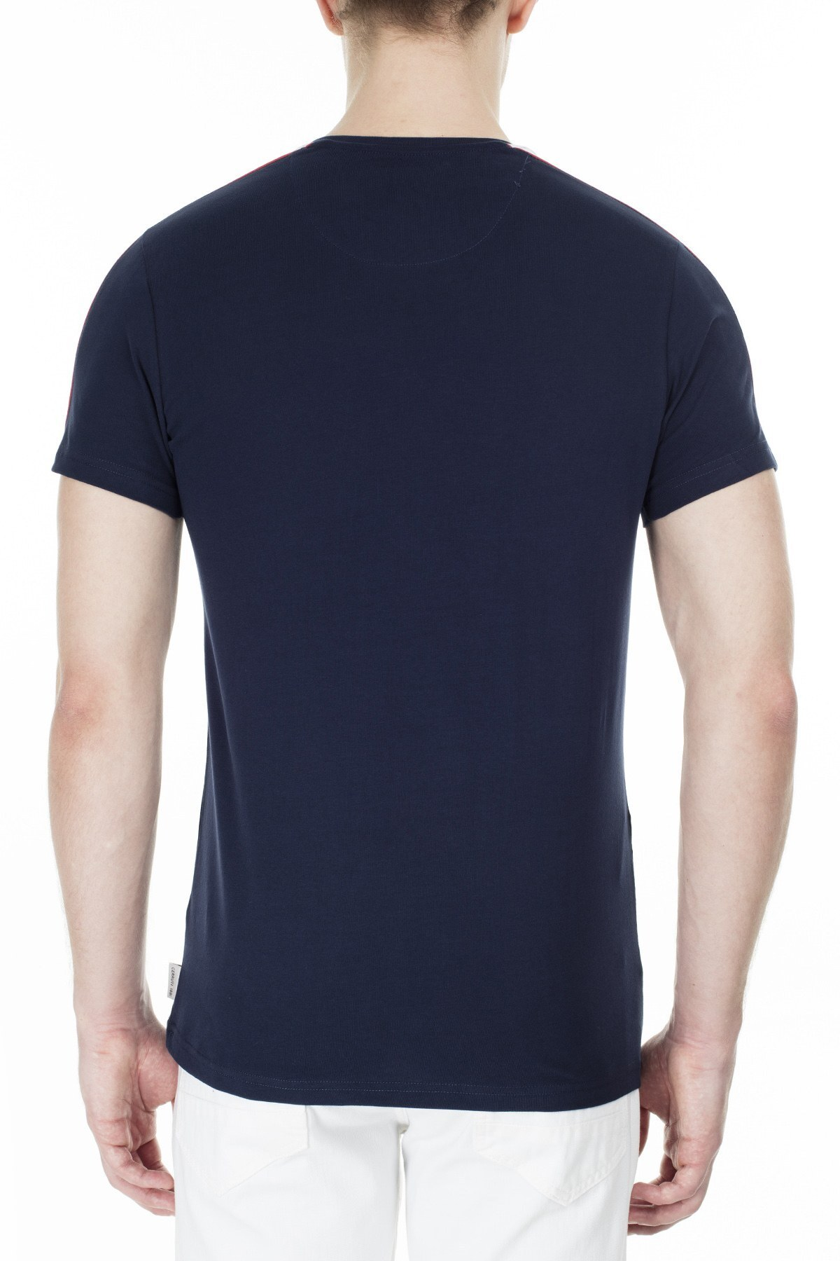 Cerruti 1881 Erkek T Shirt 203-001719 LACİVERT