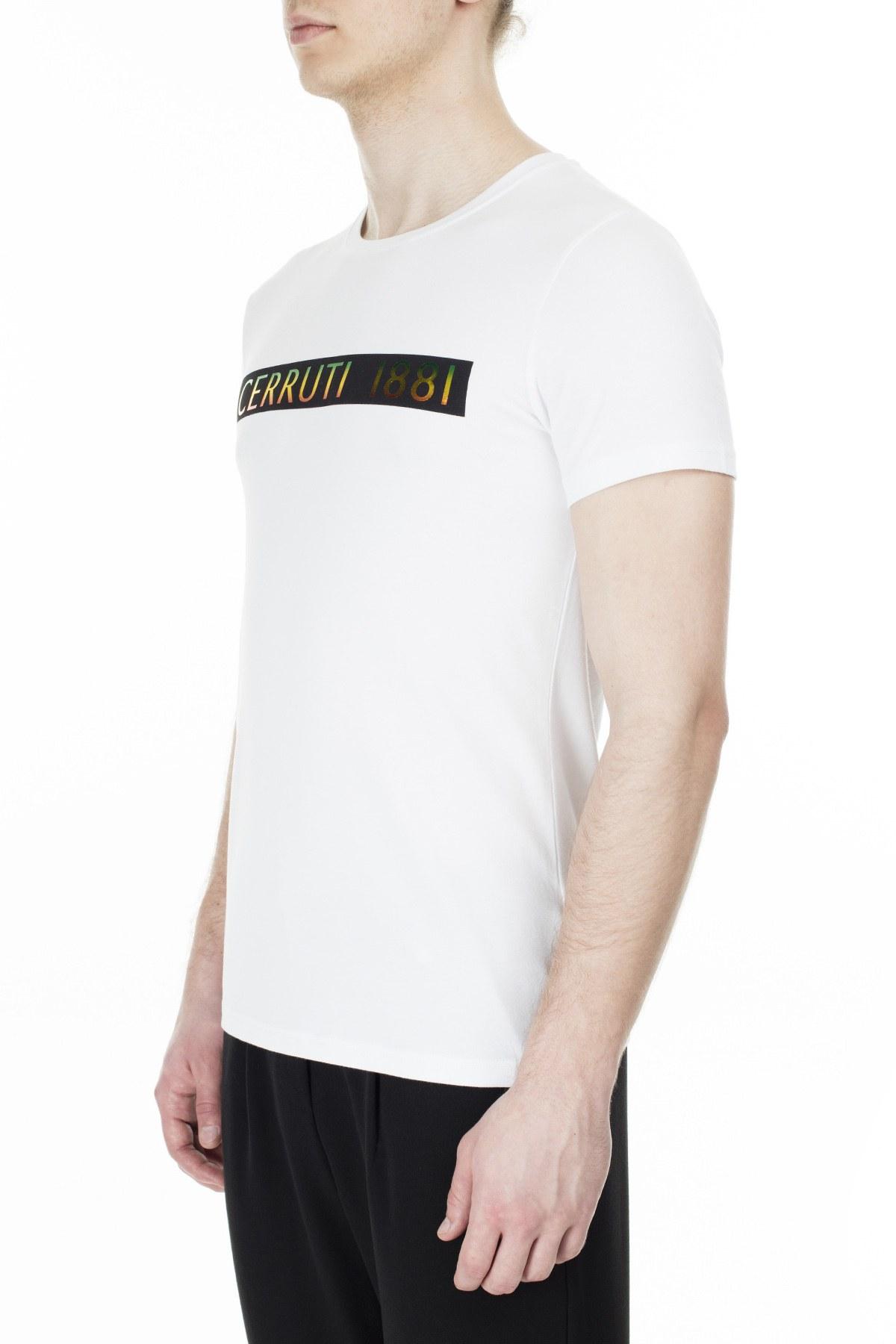 Cerruti 1881 Erkek T Shirt 203-001720 BEYAZ