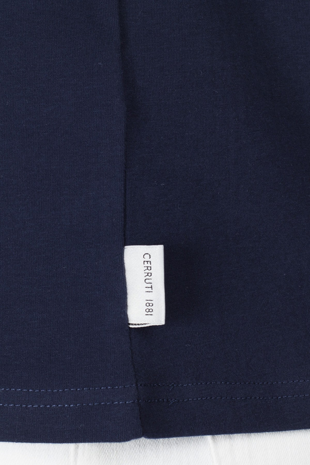 Cerruti 1881 Erkek T Shirt 203-001726 LACİVERT
