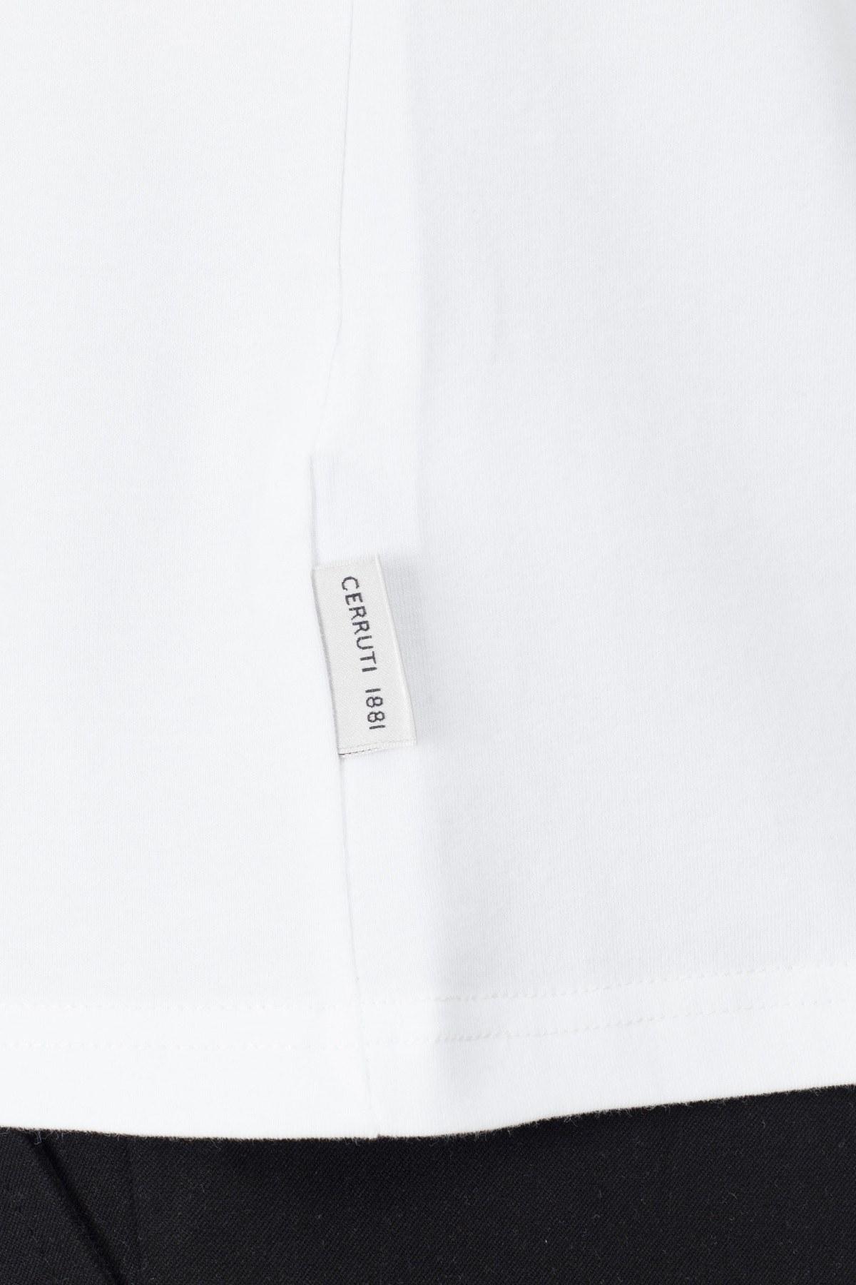 Cerruti 1881 Erkek T Shirt 203-001726 BEYAZ