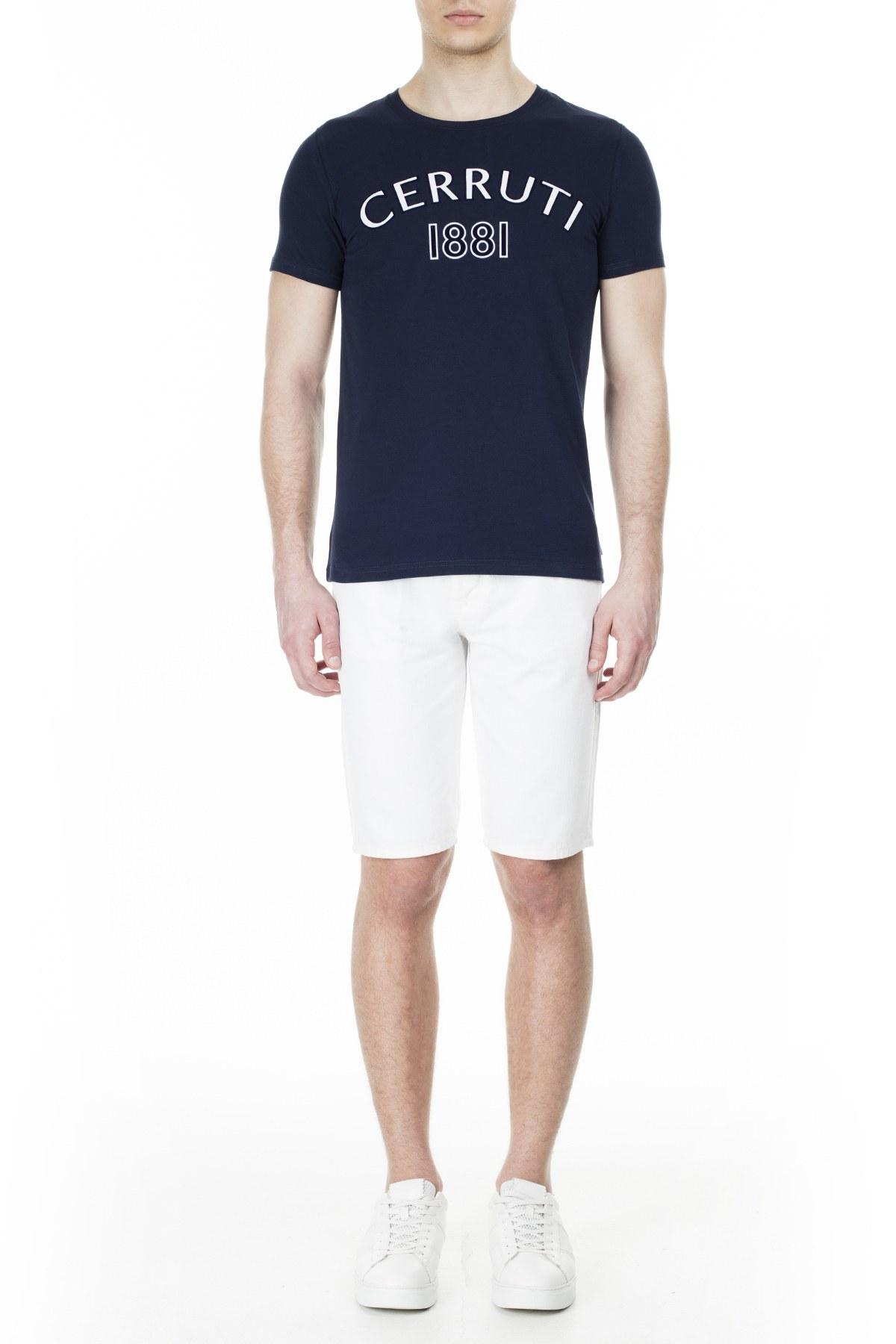Cerruti 1881 Erkek T Shirt 203-001728 LACİVERT
