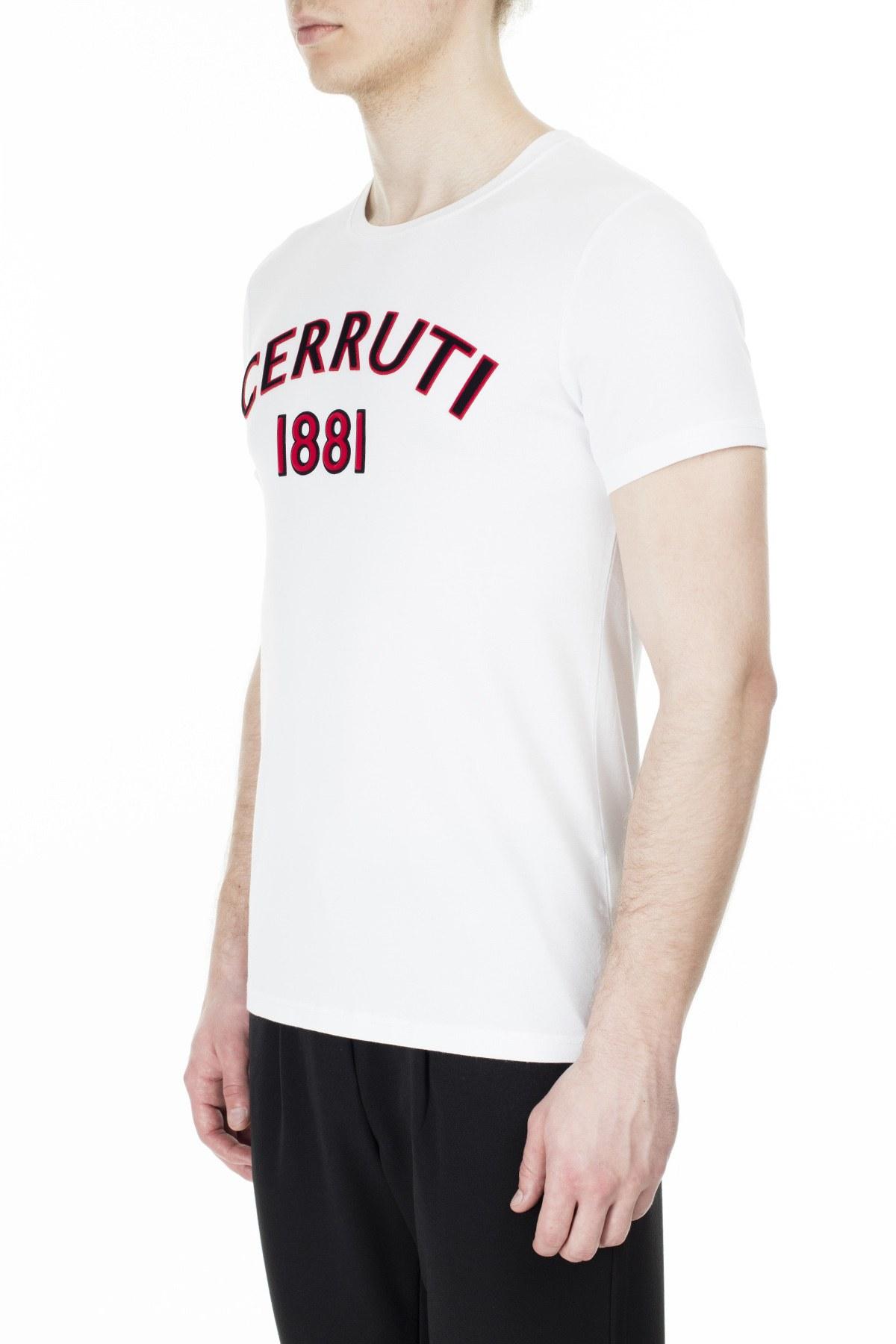 Cerruti 1881 Erkek T Shirt 203-001728 BEYAZ