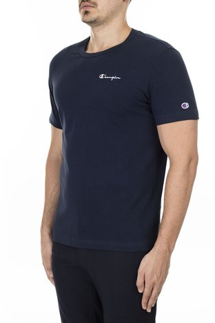 Champion Bisiklet Yaka Erkek T Shirt 211985 BS501 NNY LACİVERT